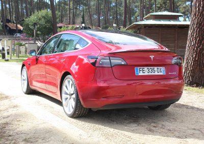 Tesla Model 3 - Vue arrière